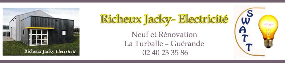 Electricite Richeux – Travaux d'électricité en neuf et rénovation à Guerande
